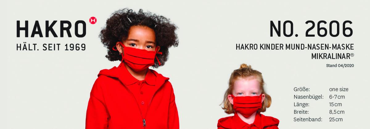 Hakro Masken Kinder Modell 2606